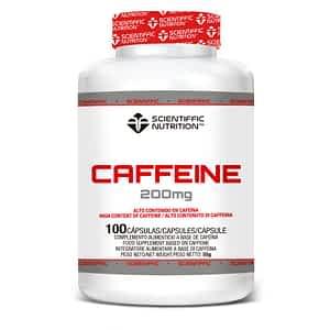 Cafeína 200mg 100Caps Scientiffic Nutrition