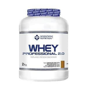 Proteína Whey Professional 2.0 Scientiffic Nutrition 2kg