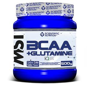 BCAA + Glutamina 500 gr Scientiffic Nutrition