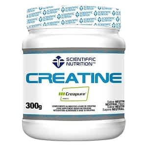 Creatina 100% Creapure® 300g Scientiffic Nutrition