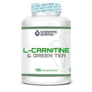 L Carnitina + Té Verde 475mg Scientiffic Nutrition