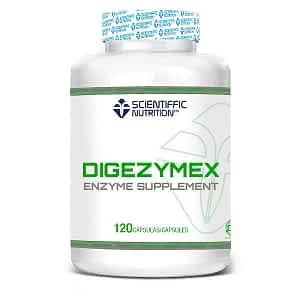 Enzimas Digestivas Digezymex 120Caps Scientiffic Nutrition