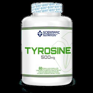 Tirosina 500mg Scientiffic Nutrition