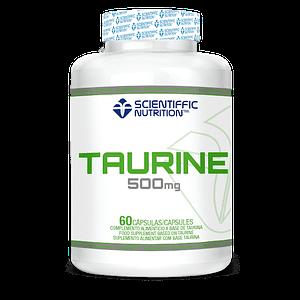 Taurina 500mg Scientiffic Nutrition