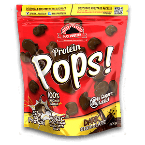 PROTEIN POPS MAX® Bolitas Crujientes Chocolate Negro