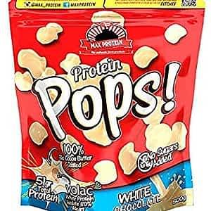 PROTEIN POPS MAX® Bolitas Crujientes Chocolate Blanco