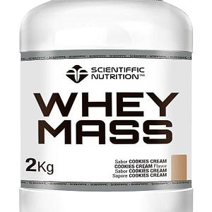 Proteínas y Carbohidratos 50/50 Whey Mass 2kg Scientiffic