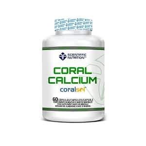 Coral Calcium 500mg 60 caps Scientiffic Nutrition